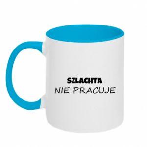 Two-toned mug Nobility - PrintSalon