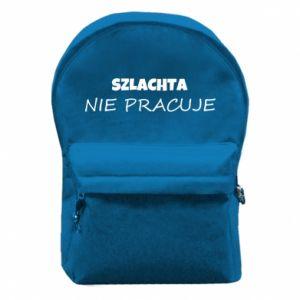 Backpack with front pocket Nobility - PrintSalon
