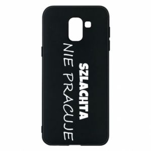 Phone case for Samsung J6 Nobility - PrintSalon