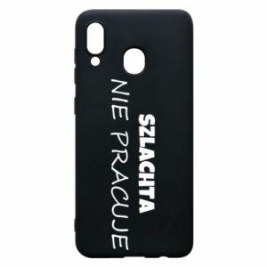 Phone case for Samsung A20 Nobility - PrintSalon