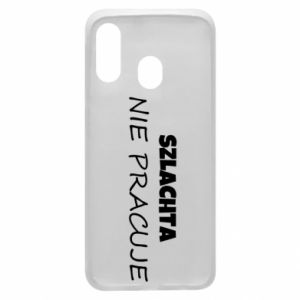Phone case for Samsung A40 Nobility - PrintSalon