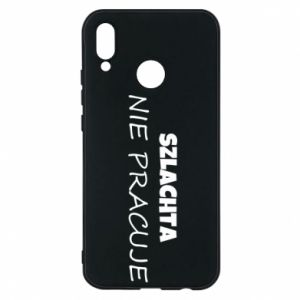 Phone case for Huawei P20 Lite Nobility - PrintSalon