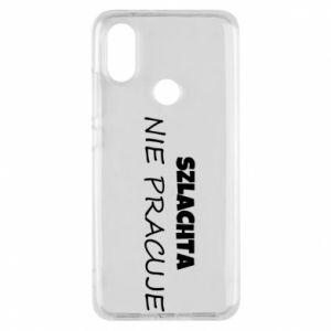 Phone case for Xiaomi Mi A2 Nobility - PrintSalon