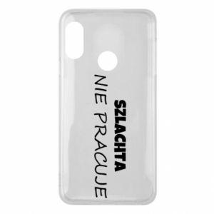 Phone case for Mi A2 Lite Nobility - PrintSalon