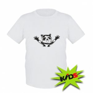 Kids T-shirt Cute raccoon