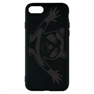 Phone case for iPhone 7 Cute raccoon