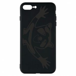 Phone case for iPhone 7 Plus Cute raccoon