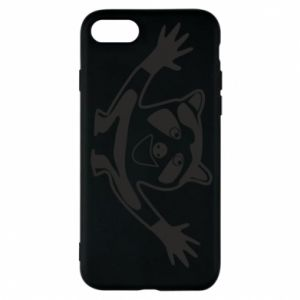 Phone case for iPhone 8 Cute raccoon