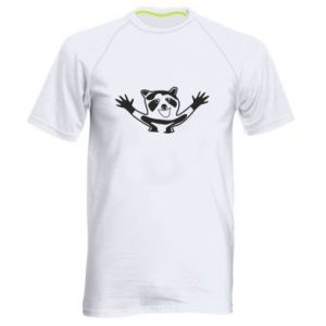 Męska koszulka sportowa Szop - PrintSalon