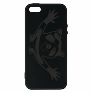Phone case for iPhone 5/5S/SE Cute raccoon