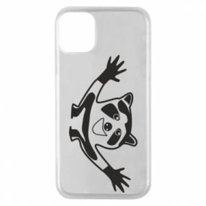 Phone case for iPhone 11 Pro Cute raccoon