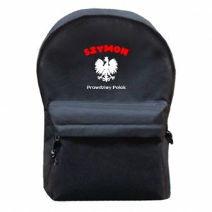 Plecak z przednią kieszenią Szymon jest prawdziwym Polakiem