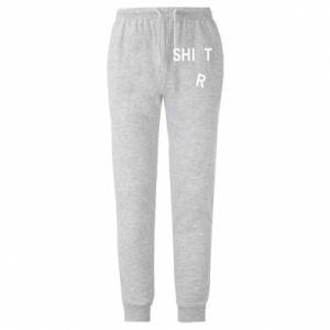 Męskie spodnie lekkie T-SHIrT