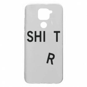 Xiaomi Redmi Note 9 / Redmi 10X case % print% T-SHIrT