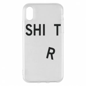 Phone case for iPhone X/Xs T-SHIrT