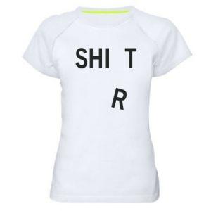 Women's sports t-shirt T-SHIrT