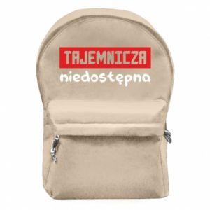 Plecak z przednią kieszenią Tajemnicza niedostępna
