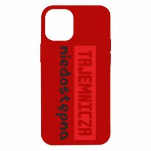 Etui na iPhone 12 Mini Tajemnicza niedostępna
