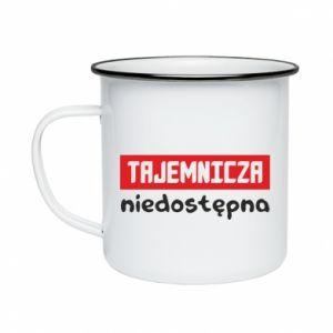 Enameled mug Mysterious unavailable - PrintSalon
