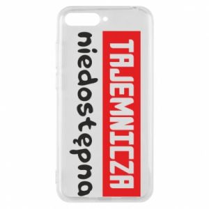 Phone case for Huawei Y6 2018 Mysterious unavailable - PrintSalon