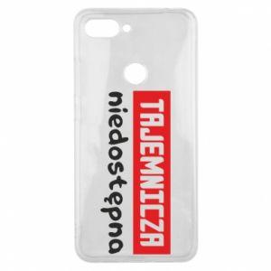 Phone case for Xiaomi Mi8 Lite Mysterious unavailable - PrintSalon