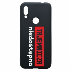 Phone case for Xiaomi Redmi 7 Mysterious unavailable - PrintSalon