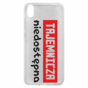 Phone case for Xiaomi Redmi 7A Mysterious unavailable - PrintSalon