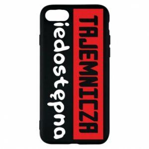 Phone case for iPhone 7 Mysterious unavailable - PrintSalon