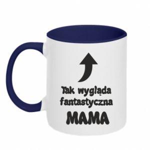 Two-toned mug That's how fantastic Mom looks