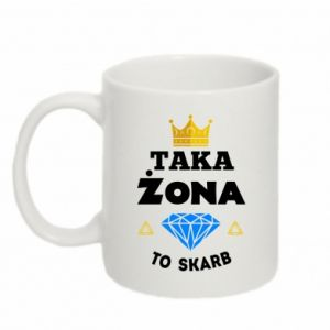 Kubek 330ml Taka żona to skarb