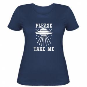 Women's t-shirt Take me please