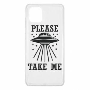 Samsung Note 10 Lite Case Take me please