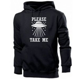 Men's hoodie Take me please