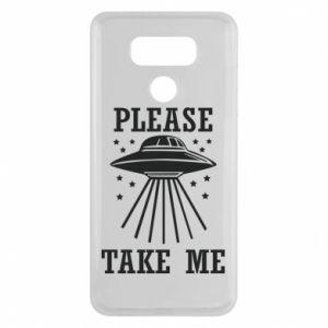 LG G6 Case Take me please