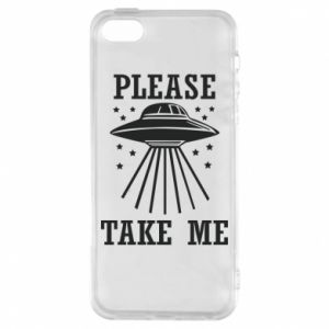 Etui na iPhone 5/5S/SE Take me please