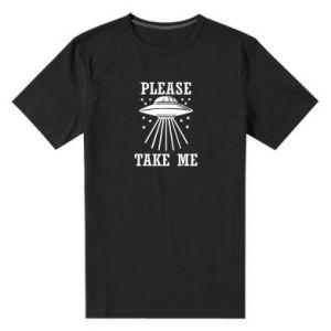 Men's premium t-shirt Take me please