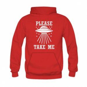 Kid's hoodie Take me please