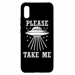 Xiaomi Redmi 9a Case Take me please