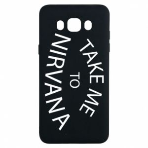 Etui na Samsung J7 2016 Take me to nirvana
