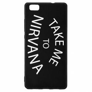 Etui na Huawei P 8 Lite Take me to nirvana