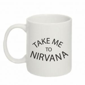 Kubek 330ml Take me to nirvana