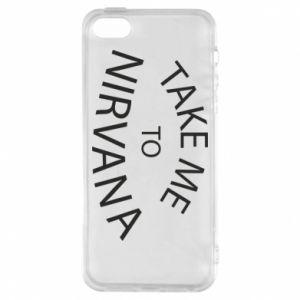 Etui na iPhone 5/5S/SE Take me to nirvana