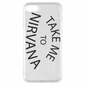 Etui na iPhone 8 Take me to nirvana