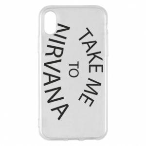 Etui na iPhone X/Xs Take me to nirvana