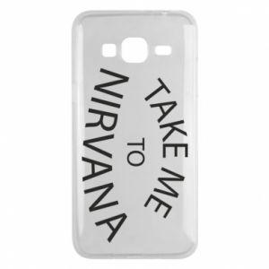 Etui na Samsung J3 2016 Take me to nirvana