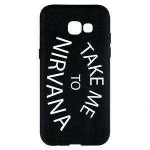 Etui na Samsung A5 2017 Take me to nirvana