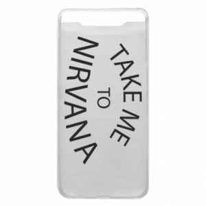 Etui na Samsung A80 Take me to nirvana