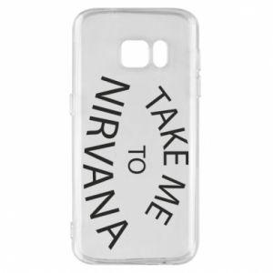 Etui na Samsung S7 Take me to nirvana