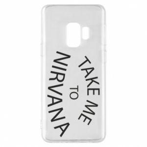Etui na Samsung S9 Take me to nirvana