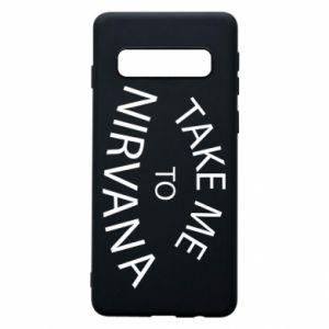 Etui na Samsung S10 Take me to nirvana